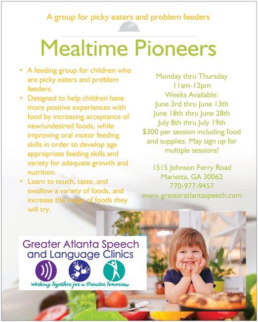 Mealtime Pioneers